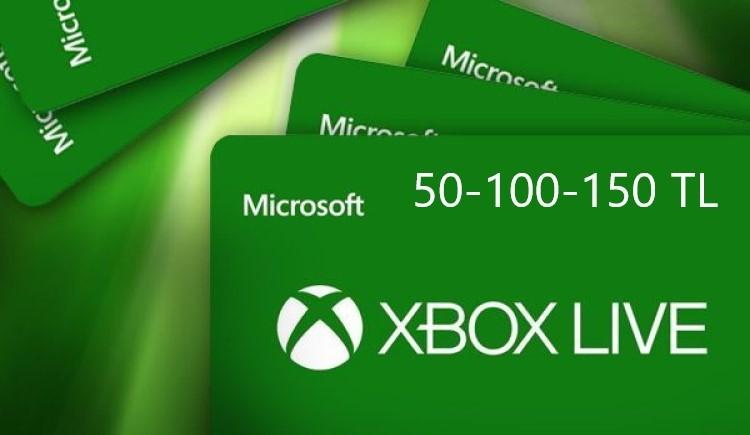 Xbox Dijital Hediye Kartı TR