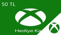 50,00 ₺ Xbox Dijital Hediye Kartı