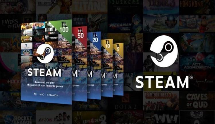 Steam 50-100 TL Bakiye (Kampanyalı Ürün)