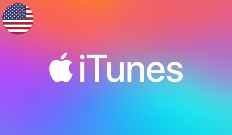 iTunes Gift Card USD United States (NA)