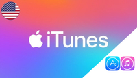 iTunes (Apple) Gift Card USA 25 USD