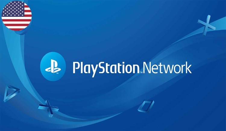 Playstation Network Gift Card USD USA United States of America