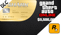 Grand Theft Auto Online: The Whale Shark Cash Card 3 500 000 DLC