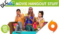 The Sims 4 Movie Hangout Stuff Origin CD Key