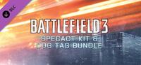 Battlefield 3 SPECACT Kiti ve Künye Paketi Steam
