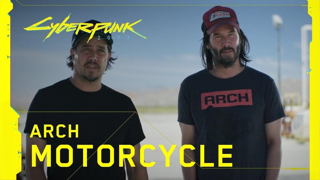 Keanu Reeves'in Motosikleti Cyberpunk 2077'de