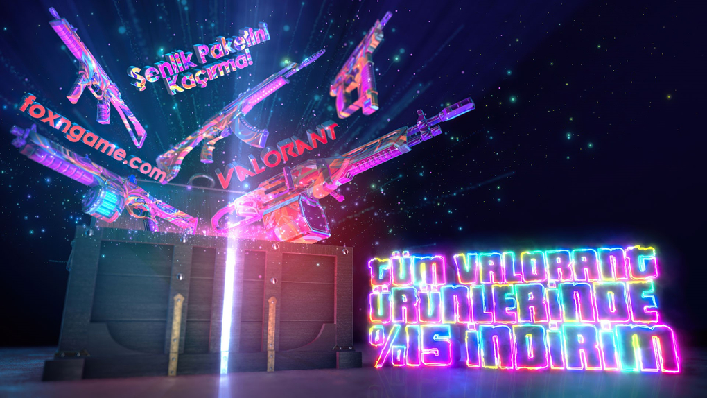 Valorant'ın Yeni Şenlik Kostüm Paketi Sizlerle