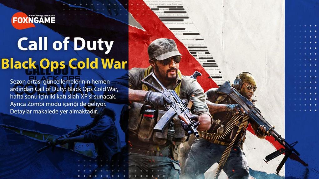 Cold War İki Katı Silah XP Etkinliği Geliyor
