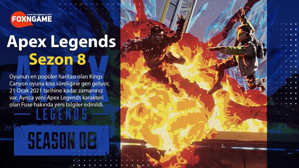 Apex Legends 8. Sezona Yeni Karakteri Fuse İle Geliyor