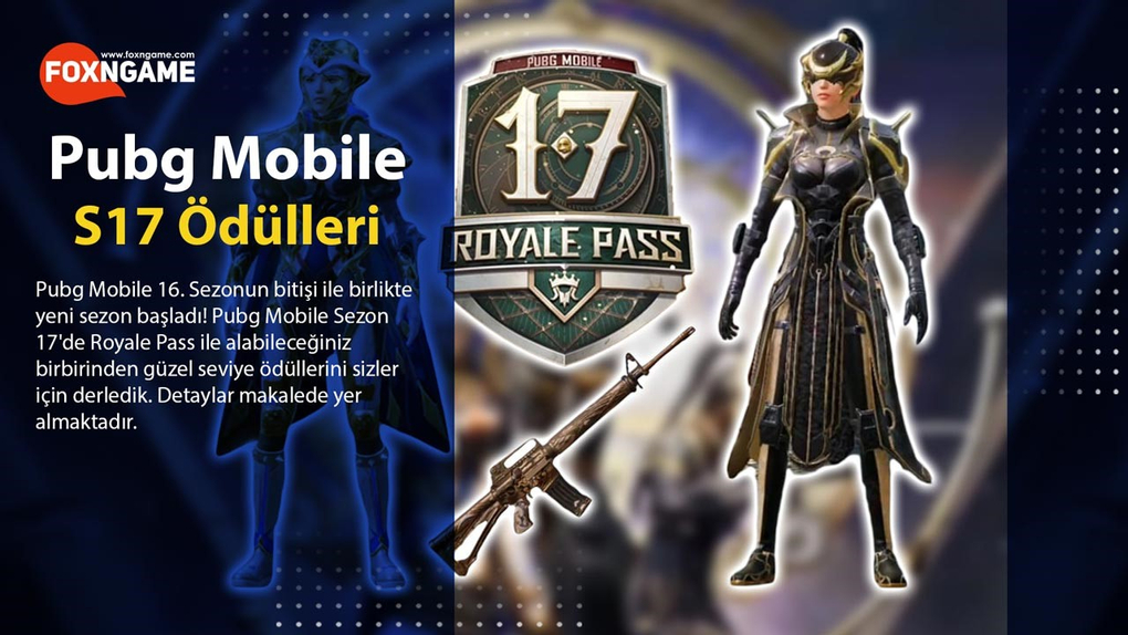 PUBG Mobile Sezon 17 Royale Pass Ödülleri