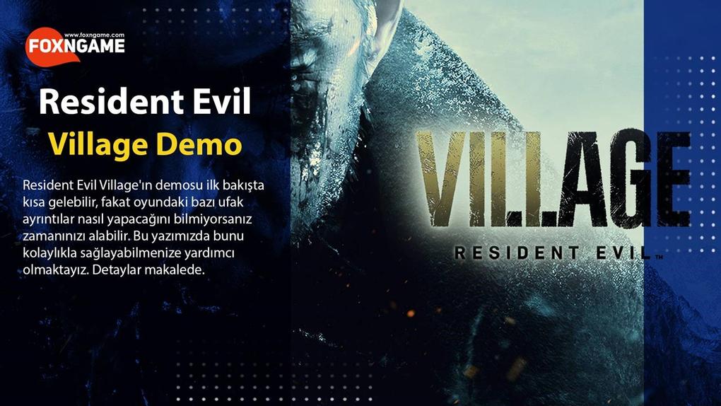 Resident Evil Village Demo İncelemesi ve Detaylar