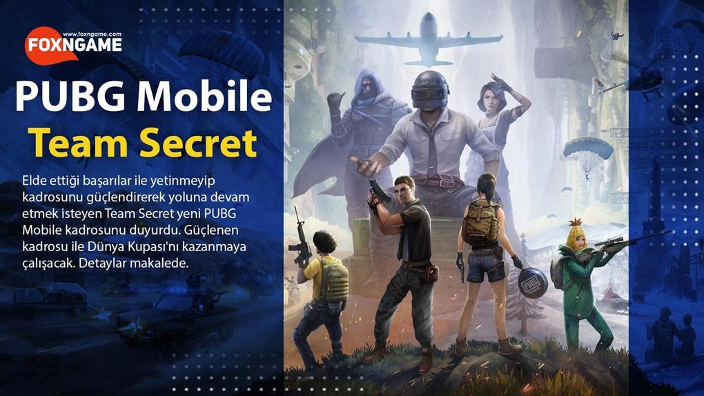 Team Secret Yeni PUBG Mobile Kadrosunu Duyurdu