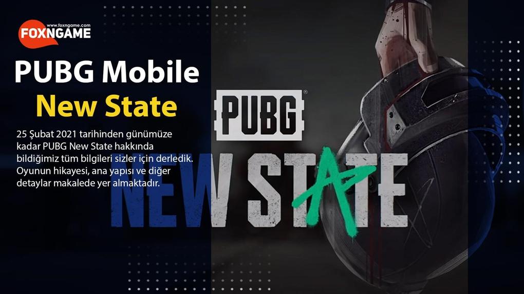 PUBG New State Hakkında Bildiklerimiz