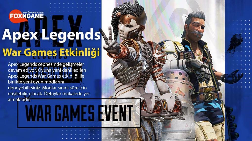 Apex Legends Yeni War Games Etkinliği Geldi