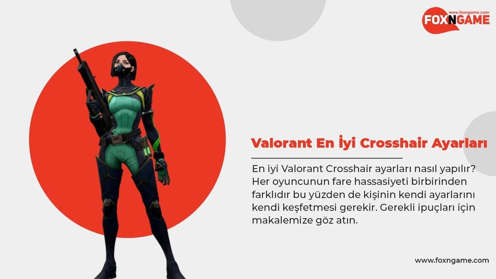 Valorant En İyi Crosshair Ayarları