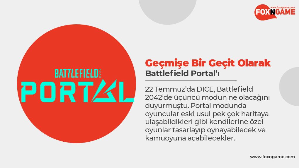 Geçmişe Bir Geçit Olarak Battlefield Portal'ı