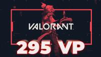 295 VP Valorant Points