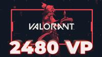 2480 VP Valorant Points