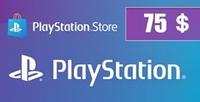 PlayStation Gift Card 75 USD