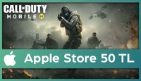 Call Of Duty Mobile (CP) Apple Store 50 TL