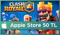 Clash Royale Apple Store 50 TL