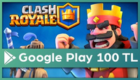 Clash Royale  Google Play  100 TL