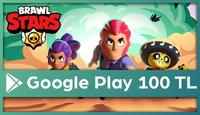 Brawl Stars Google Play 100 TL