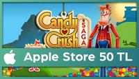 Candy Crush Saga Apple Store 50 TL