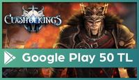 Clash of Kings Google Play 50 TL