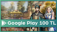 Game of Sultans Google Play 100 TL