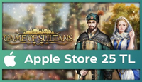 Game of Sultans Apple Store 25 TL