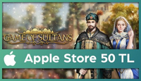 Game of Sultans Apple Store 50 TL
