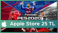 PES 2020 Mobile Apple Store 25 TL
