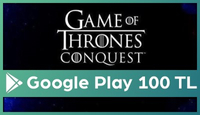 Game of Thrones Google Play 100 TL