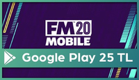 Football Manager Mobil Google Play 25 TL