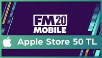 Football Manager Mobil Apple Store 50 TL