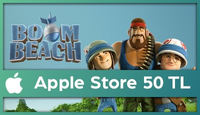 Boom Beach Apple Store 50 TL