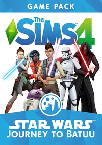 The Sims 4 Star Wars Journey to Batuu DLC