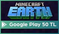 Minecraft Earth Google Play 50 TL