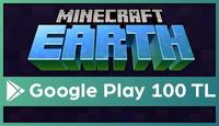 Minecraft Earth Google Play 100 TL