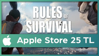 Rules of Survival Apple Store 25 TL