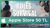 Rules of Survival Apple Store 50 TL