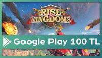 Rise Of Kingdoms Google Play 100 TL