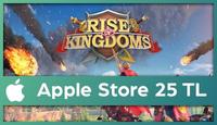 Rise Of Kingdoms Apple Store 25 TL