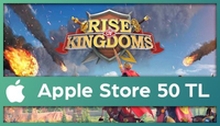 Rise Of Kingdoms Apple Store 50 TL