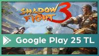 Shadow Fight Google Play 25 TL