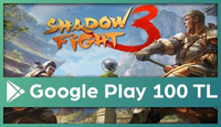 Shadow Fight Google Play 100 TL