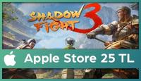 Shadow Fight Apple Store 25 TL