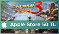 Shadow Fight Apple Store 50 TL