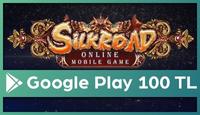 Silkroad Online Google Play 100 TL